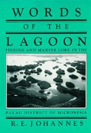 Words of the lagoon by R. E. Johannes