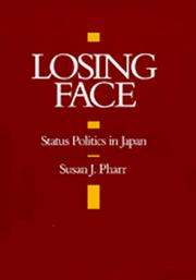 Cover of: Losing Face | Susan J. Pharr