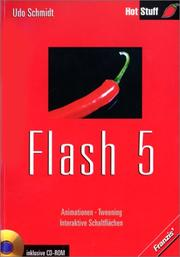 Cover of: Flash 5. Animation - Tweening - Interaktive Schaltflächen