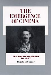 Cover of: The emergence of cinema