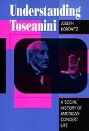 Cover of: Understanding Toscanini