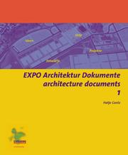 Cover of: EXPO Architektur Dokumente