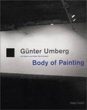 Cover of: Gunter Umberg: Body of Painting: Pictures from Cologne-based Collections