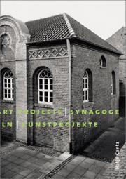 Cover of: Synagogue Stommeln: Art Projects