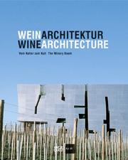 Cover of: Winearchitecture