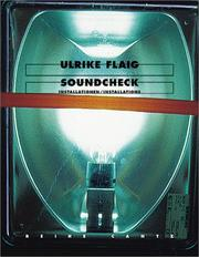 Cover of: Ulrike Flaig: Soundcheck - Installations