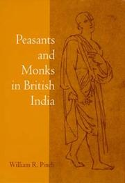 Cover of: Peasants and monks in British India