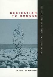 Cover of: Dedication to hunger