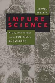 Cover of: Impure science