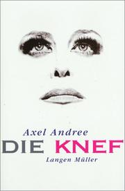 Cover of: Die Knef