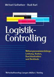 Cover of: Logistik- Controlling