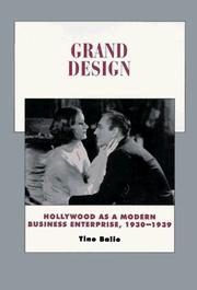 Cover of: Grand design: Hollywood as a modern business enterprise, 1930-1939