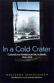 Cover of: In a cold crater