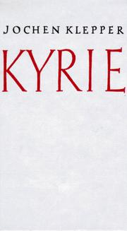 Cover of: Kyrie