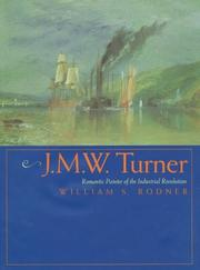 Cover of: J.M.W. Turner | William S. Rodner