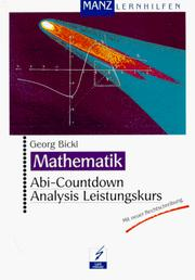 Cover of: Abi-Countdown, Analysis Leistungskurs