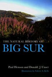 Cover of: The Natural History of Big Sur (California Natural History Guides) | Paul Henson