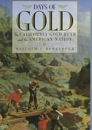 Cover of: Days of Gold