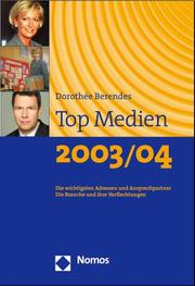 Cover of: Top Medien 2003/04