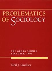 Cover of: Problematics of sociology