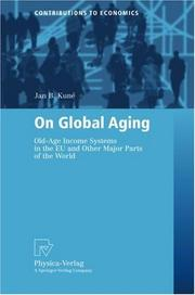 Cover of: On Global Aging