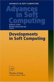 Cover of: Developments in Soft Computing (Advances in Soft Computing) |