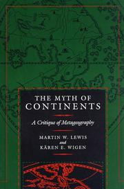 Cover of: The myth of continents