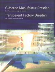 Cover of: Transparent Factory Dresden