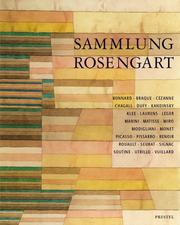 Cover of: Sammlung Rosengart
