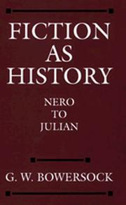 Cover of: Fiction as History