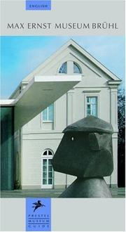 Cover of: Max Ernst Museum Bruhl (Prestel Museum Guide) |