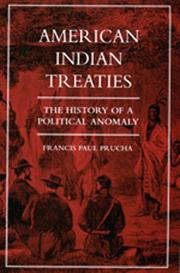 Cover of: American Indian treaties