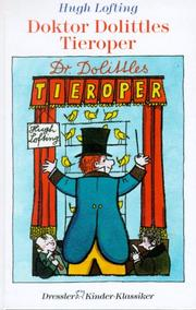 Cover of: Doktor Dolittles Tieroper.