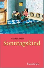 Cover of: Sonntagskind.