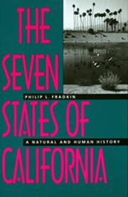 Cover of: The seven states of California: a natural and human history