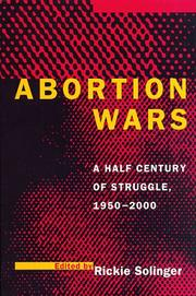 Cover of: Abortion Wars