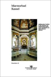 Cover of: Marmorbad Kassel