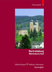 Cover of: Die Bertradaburg