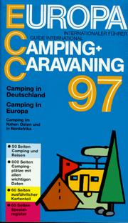 Cover of: Europa Camping and Caravaning 1997