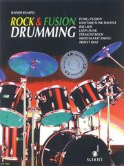 Cover of: Rock and Fusion Drumming