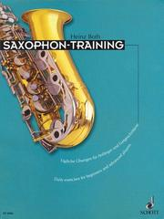 Cover of: Saxophone Training