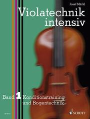 Cover of: Violatechnik intensiv 1