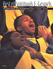 Cover of: Best of Spirituals and Gospels