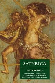 Cover of: Satyrica