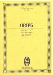 Cover of: Peer Gynt Suites