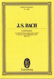 Cover of: Cantata No. 56 Cross-staff Cantata;Dominica 19 Post Trinitatis | Schering, Arnold