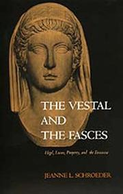 Cover of: The vestal and the fasces