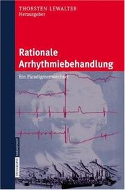 Cover of: Rationale Arrhythmiebehandlung