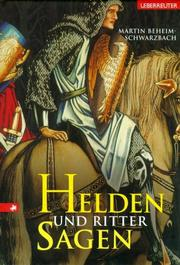 Cover of: Helden- und Rittersagen