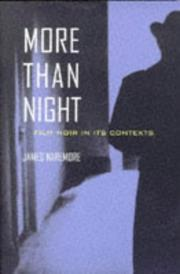 Cover of: More than night